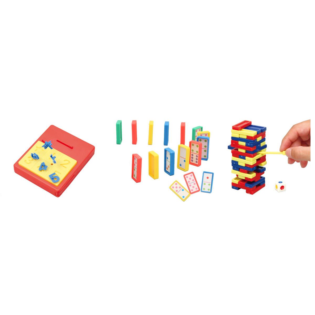 ゲームわくわくセット[ポーチ入] 知育玩具 ゲーム おもちゃ 子供 キッズ クリスマスプレゼント