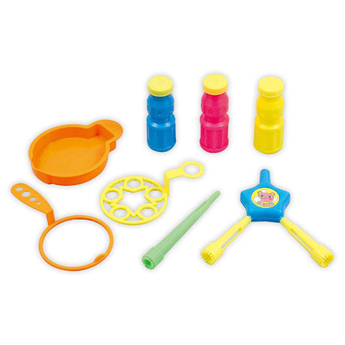 しゃぼん玉 セット しゃぼんDEあそぼう! シャボン玉 おもちゃ 知育玩具 玩具 外遊び キッズ 子供