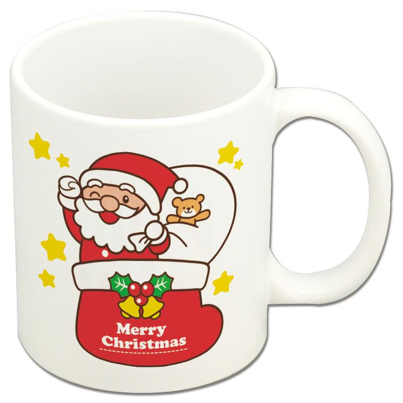 クリスマス マグカップ サンタ&トナカイ アーテック カップ 幼児 キッズ 子供 食器 季節用品 クリスマスプレゼント