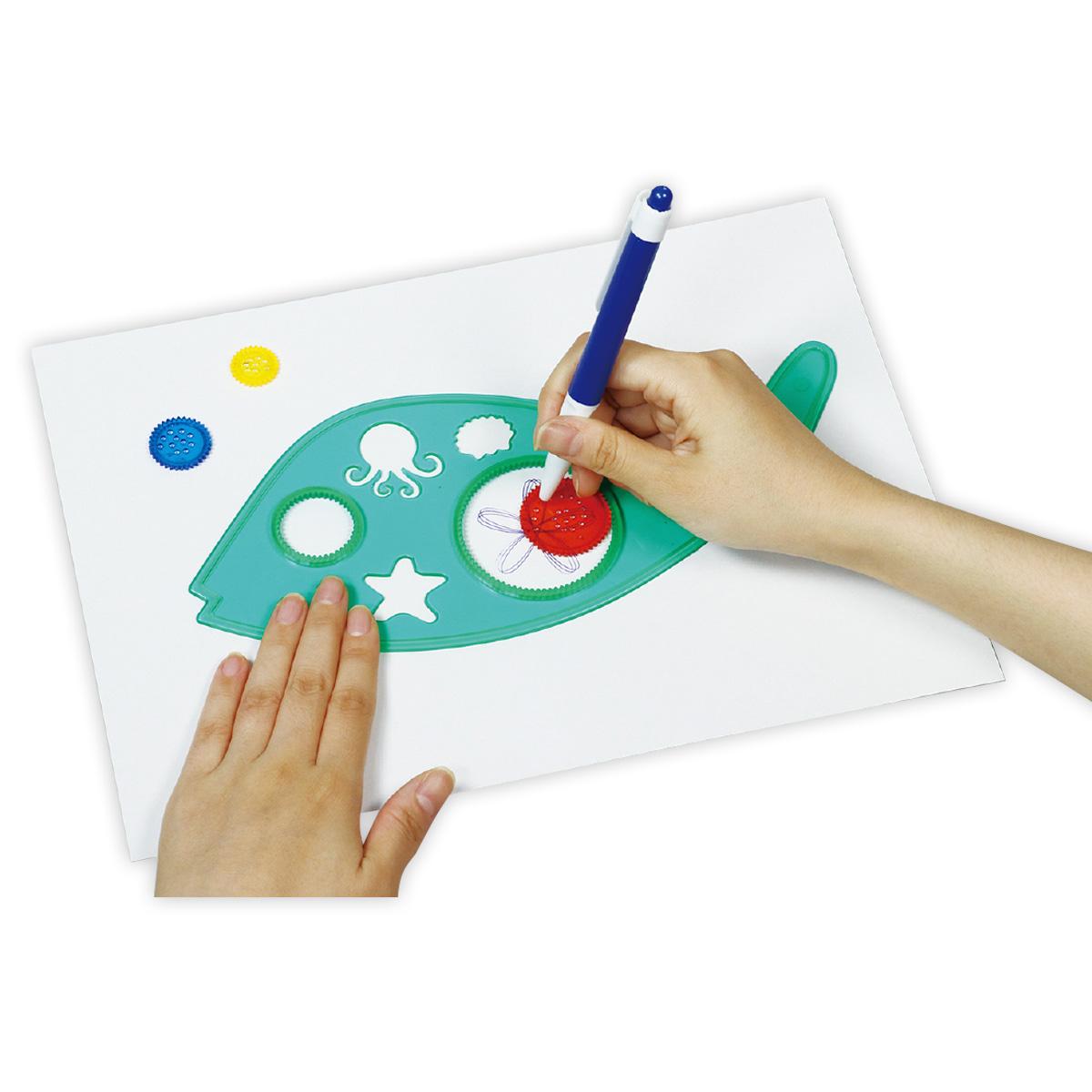 マジカルルーラー アーテック 知育玩具 お絵かき 幼児 キッズ 子供 おもちゃ
