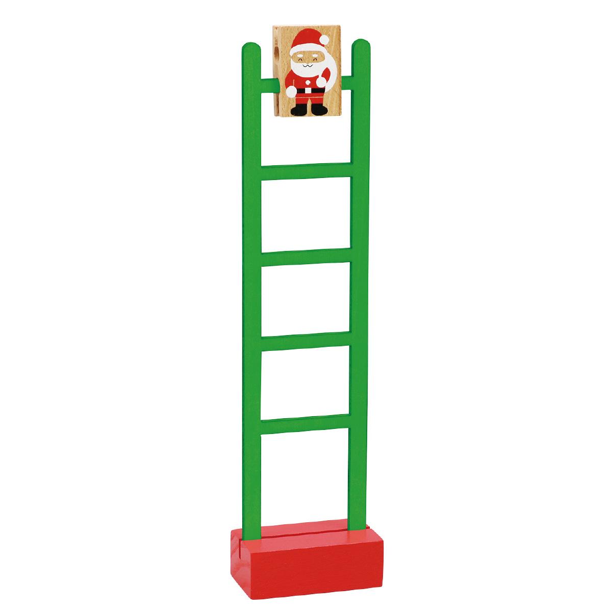 サンタのはしごくだり アーテック キッズ 子供 幼児 クリスマス 雑貨 木製 おもちゃ 知育玩具 クリスマスプレゼント
