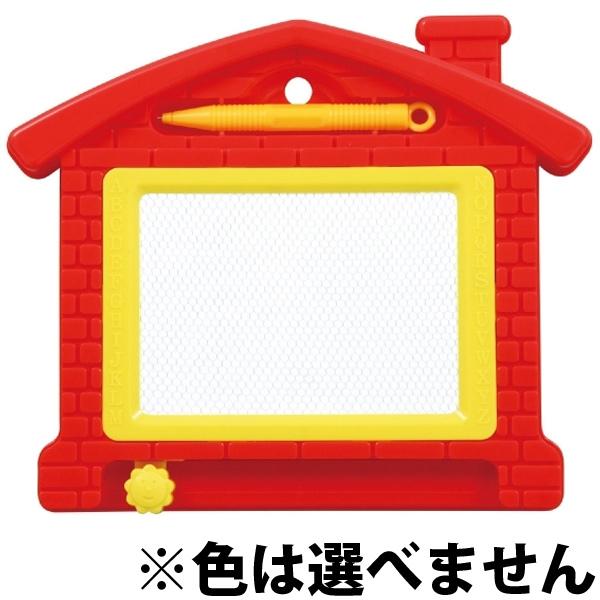 ハウス型 おえかきボード お絵かき ボード 玩具 知育玩具 おもちゃ 幼児 子供 キッズ クリスマスプレゼント