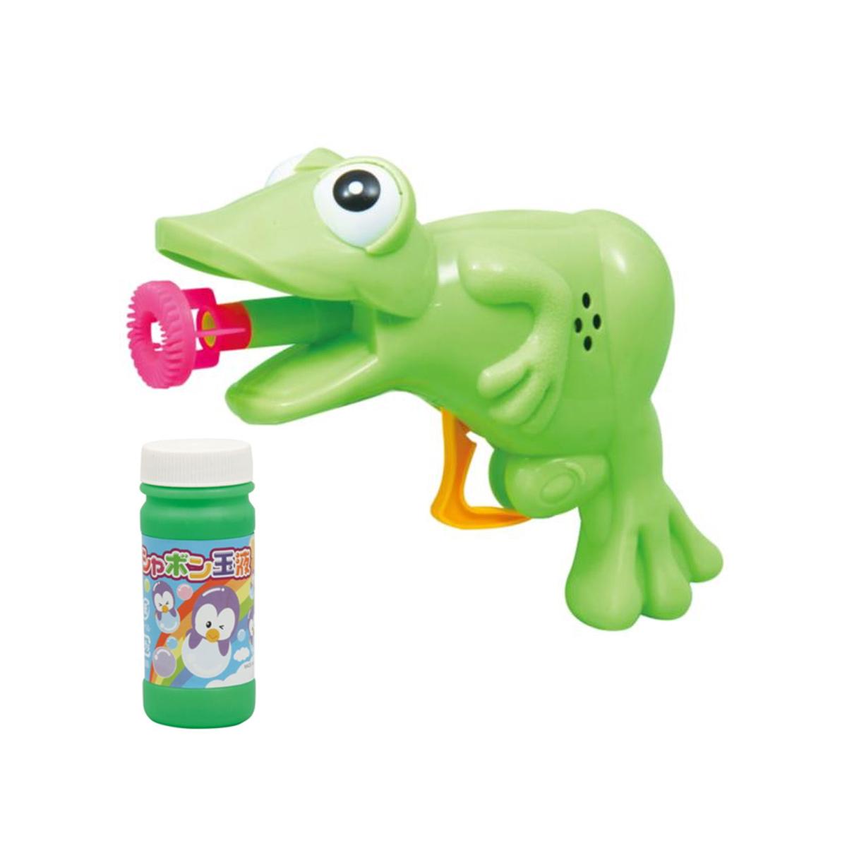 カエルしゃぼん 子供 キッズ 幼児 知育玩具 しゃぼん玉 おもちゃ 祭り 景品 クリスマスプレゼント