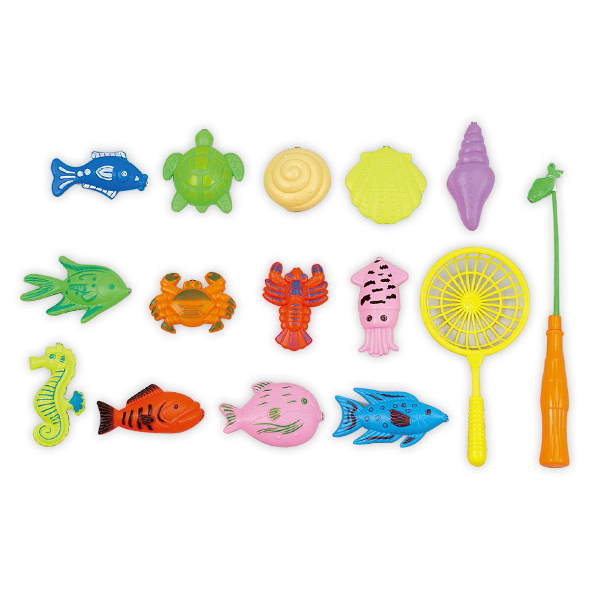 魚釣りゲーム おもちゃ おさかながいっぱい キッズ 子供 男の子 女の子 水遊び お風呂 知育玩具 マグネット クリスマスプレゼント