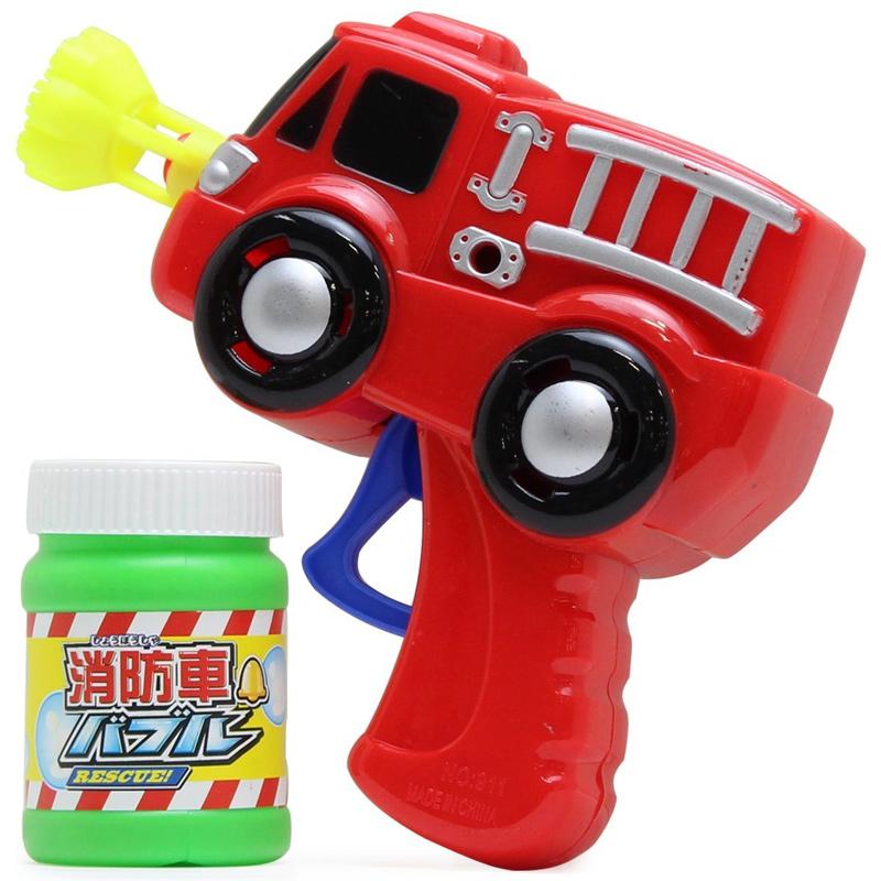 消防車バブル バブルガン しゃぼん玉 キッズ 子供 玩具 おもちゃ 景品 クリスマスプレゼント