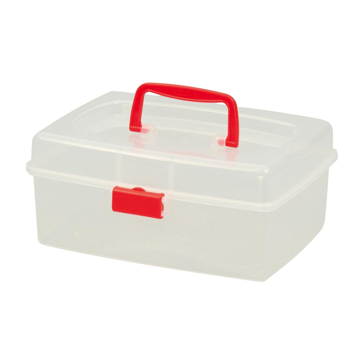 多目的ボックス キッズ 子供 ケース 収納 透明BOX 小物入れ クリスマスプレゼント