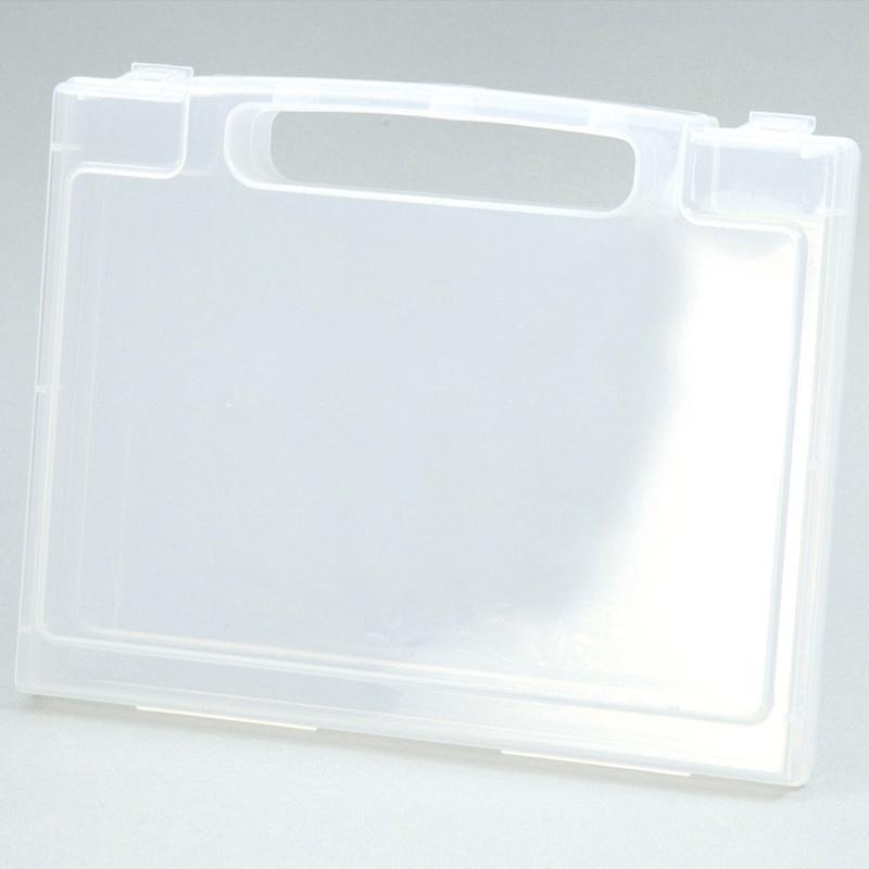 A5アクティブ ファイルケース35型C キッズ 子供 ケース 収納 透明BOX 事務用品