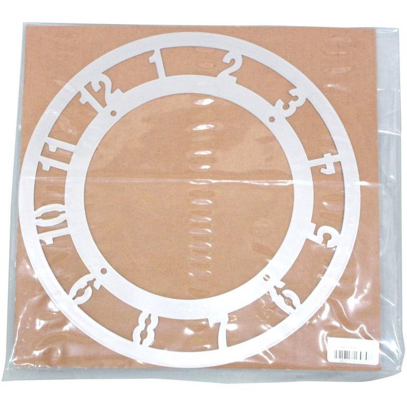 メタリック 時計用アートガラス160φ 図工 工作 美術 画材 学校 教材 手作り 時計枠 夏休み 宿題 クリスマスプレゼント