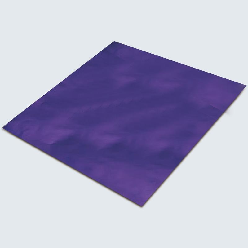 メタル箔のみ 0.02×275×230mm ブルー 図工 美術 画材 学校 教材 夏休み 宿題