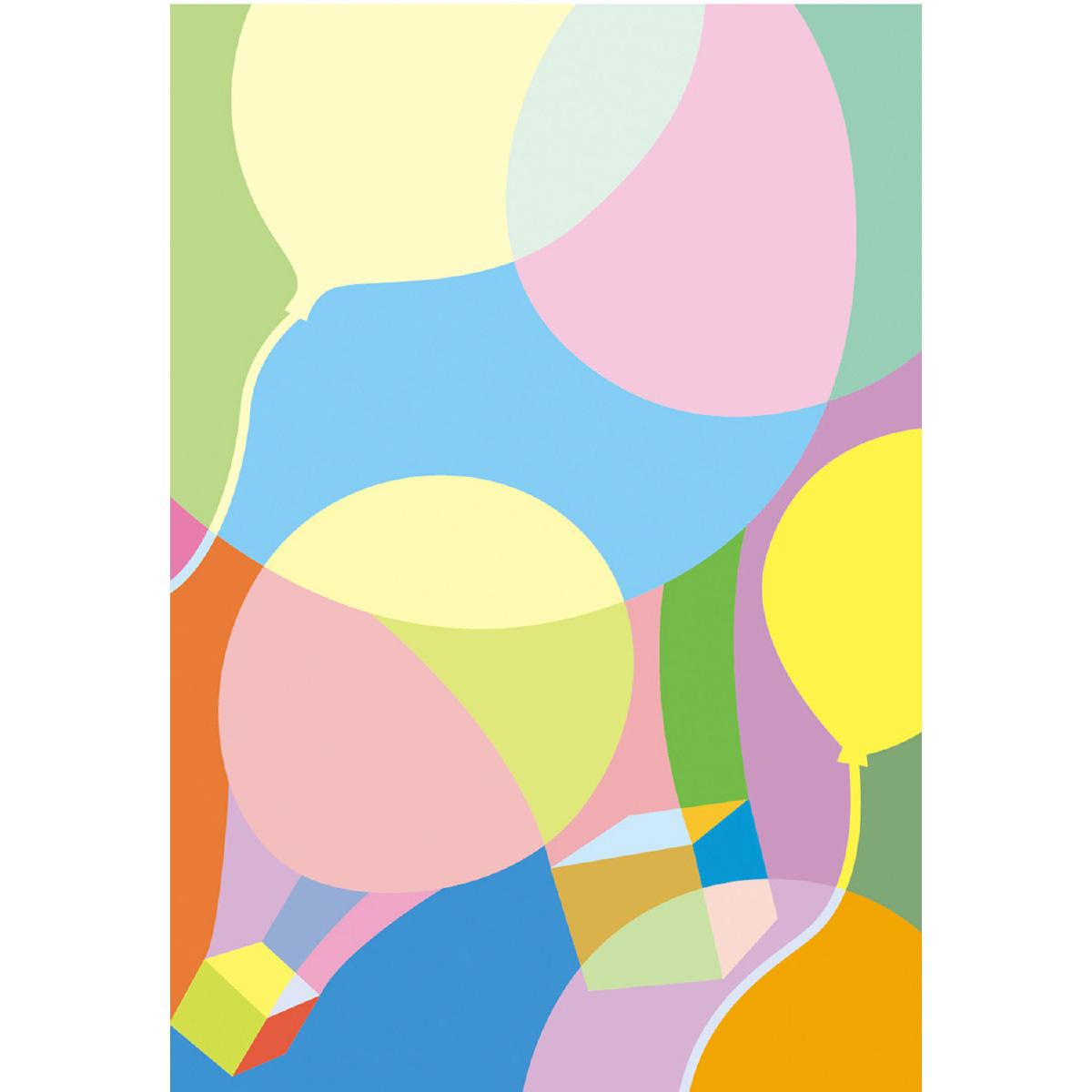 色の感情表現の練習テーマ「軽」10枚セット