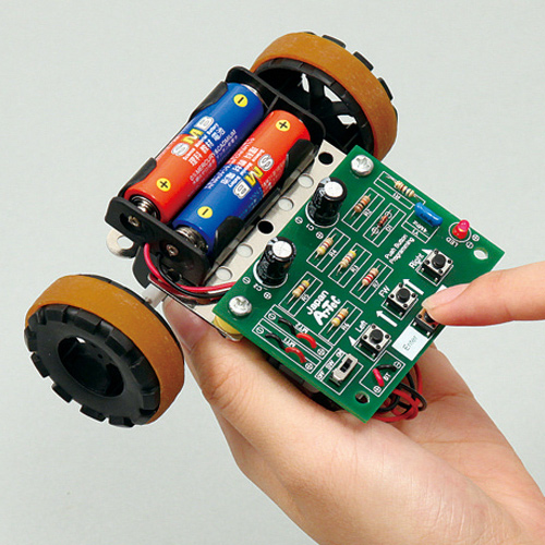 ボタン制御 ロボ 工作 実験 理科 科学 キッズ 小学生 自由研究 夏休み 宿題 知育玩具 クリスマスプレゼント