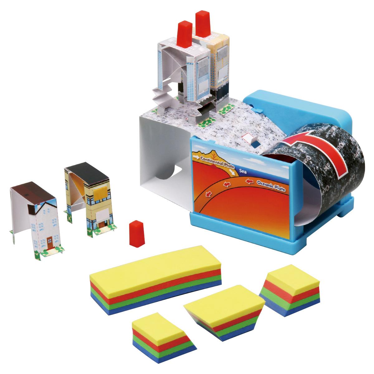 地震再現キット 工作 実験 キット 理科 科学 キッズ 小学生 学校 教材 備品 自由研究 知育玩具 クリスマスプレゼント