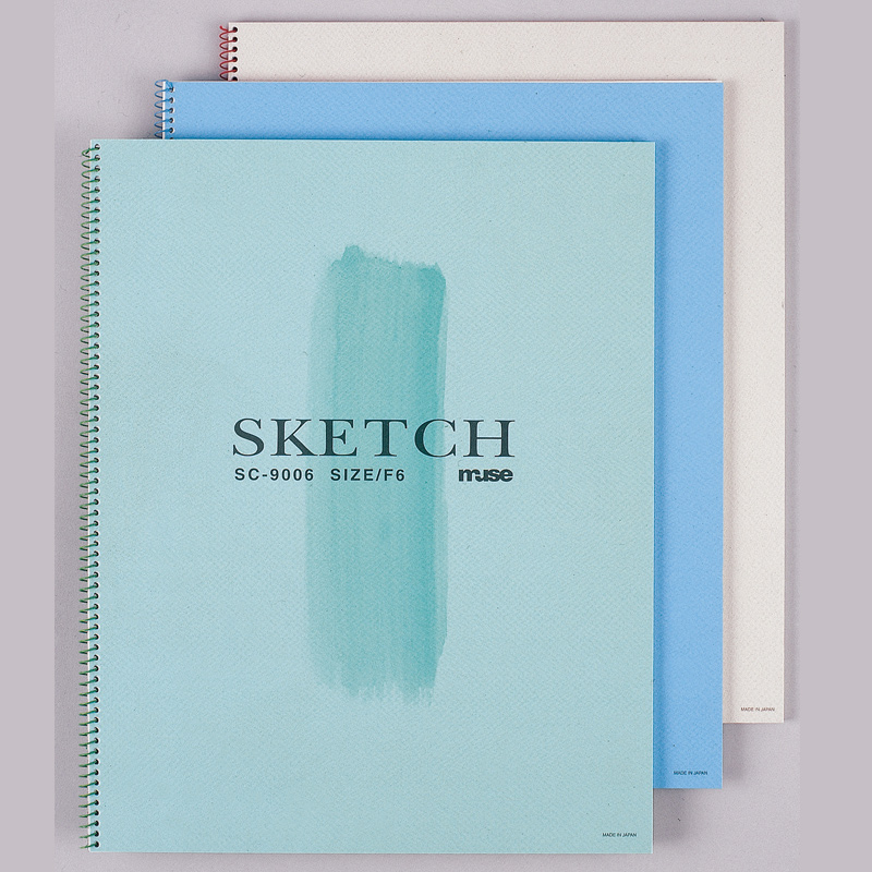 ミューズ スケッチブック B4 SC-9054 絵 美術 画材 スケッチブック 文具 図工 工作 学校 教材 絵画教室