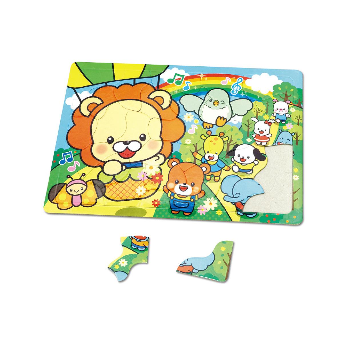 アニマルフレンズ パズル[ピクニック]30P 知育玩具 おもちゃ キッズ 子供 幼稚園 保育園 クリスマスプレゼント