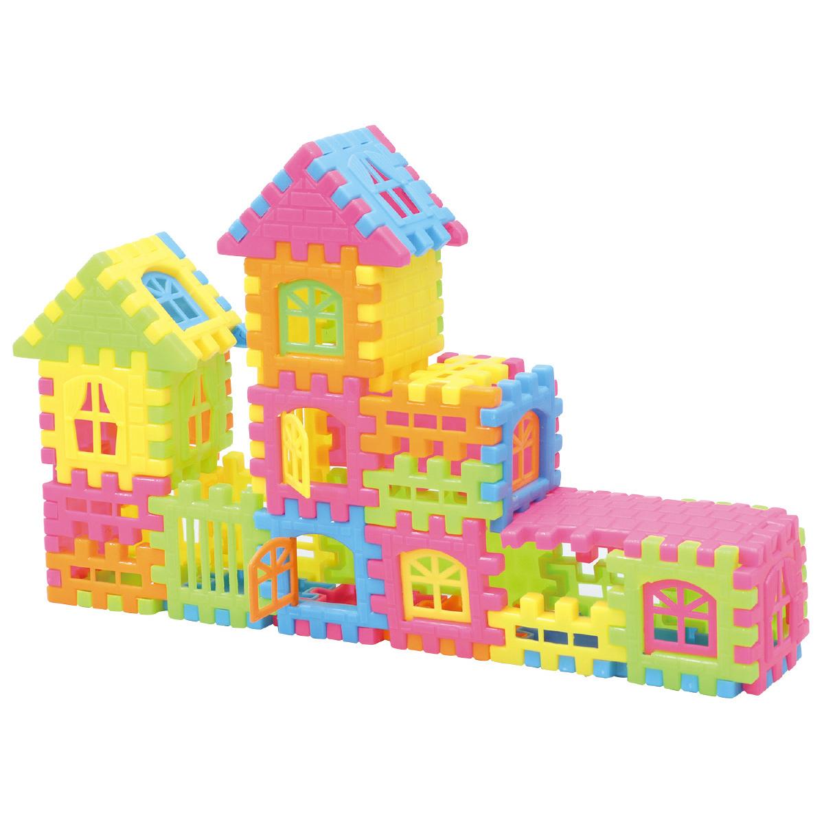 おうち ブロック 知育玩具 おもちゃ キッズ 子供 パズル 組立 クリスマスプレゼント