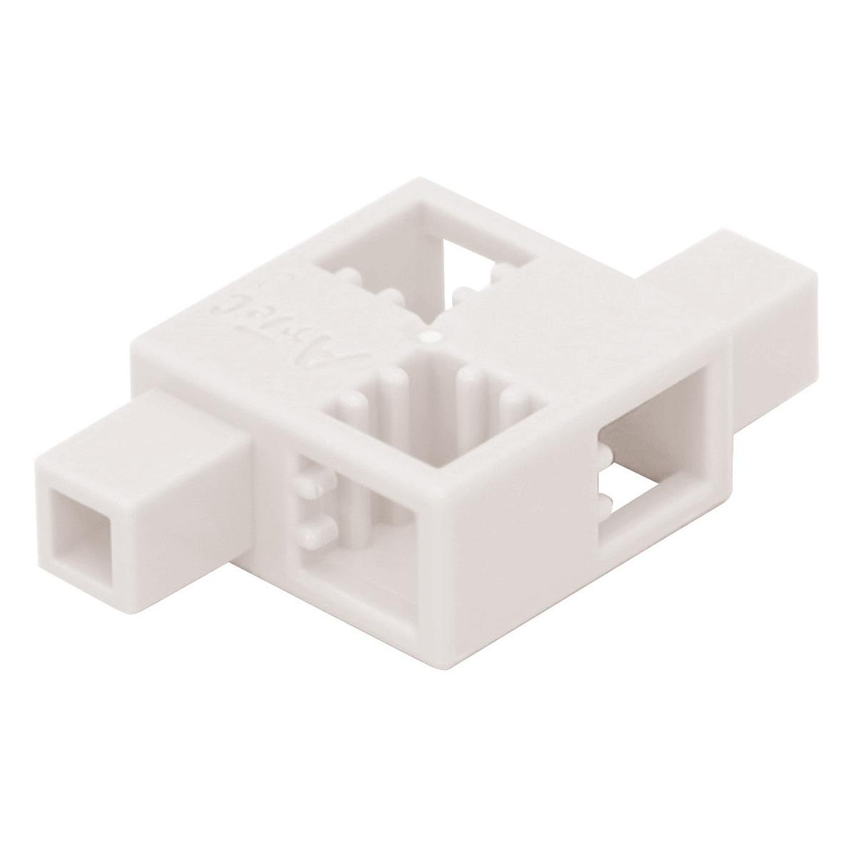 ブロック おもちゃ アーテックブロック ハーフD白単色8pcsセット 日本製 レゴ・レゴブロックのように遊べます