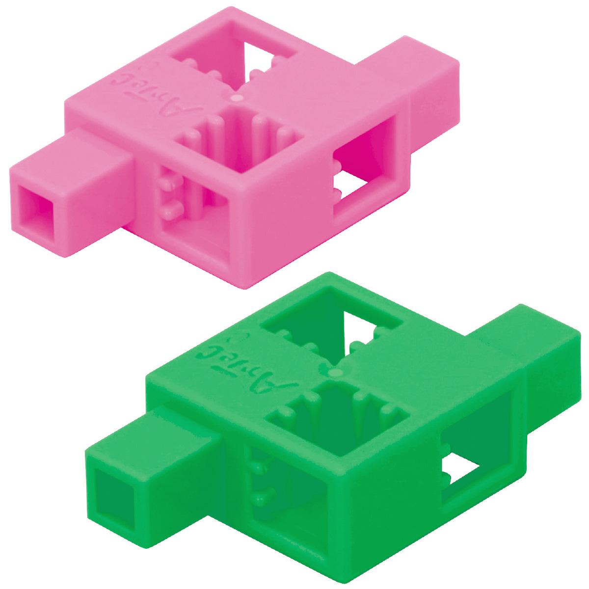 ブロック おもちゃ アーテックブロック ハーフD 8pcsセット 日本製 レゴ・レゴブロックのように遊べます クリスマスプレゼント