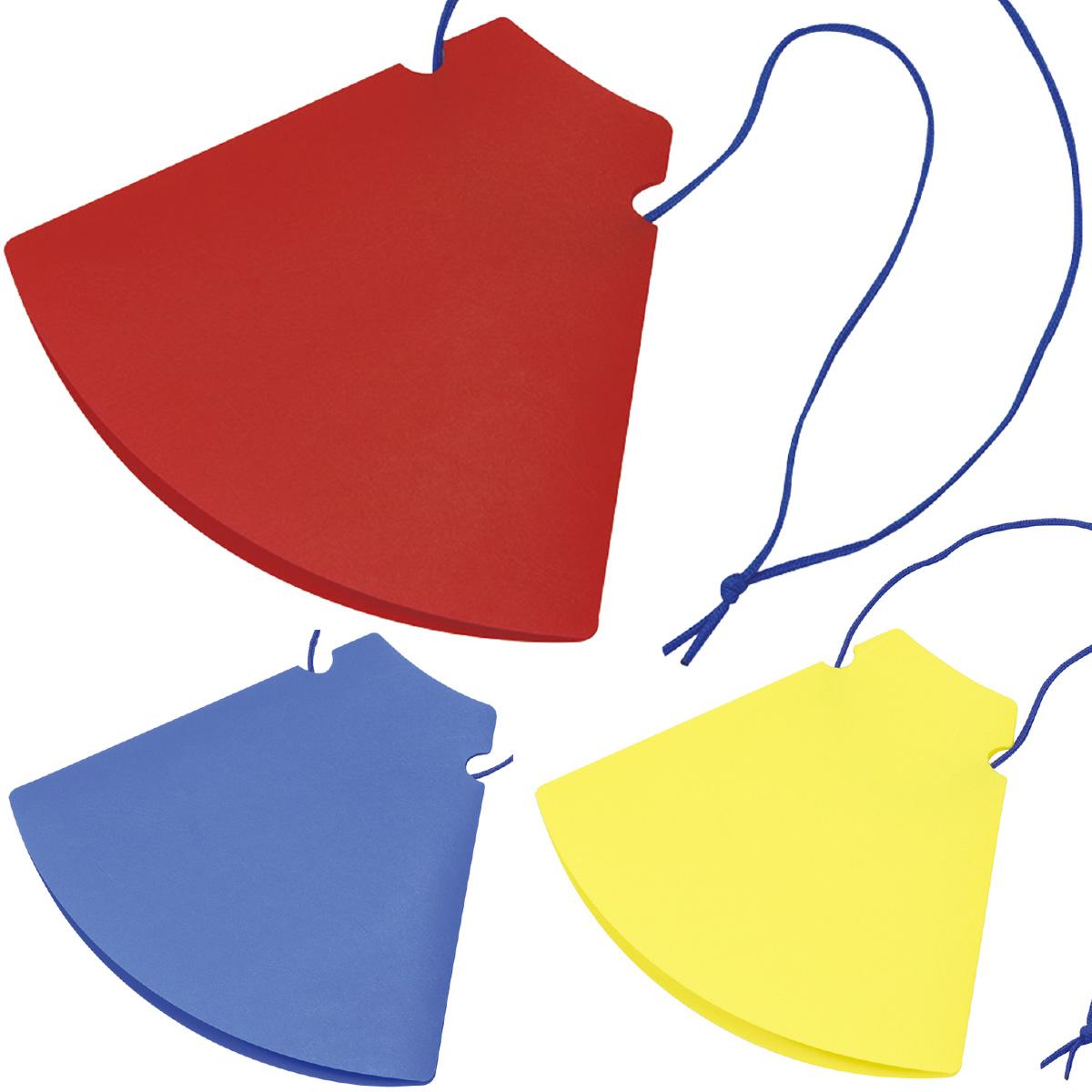 メガホン 応援 折りたたみ ひも付き 体育祭グッズ 運動会 スポーツ 赤 青 黄 コンパクト 拡声器 かわいい 少年野球 おもちゃ 子供