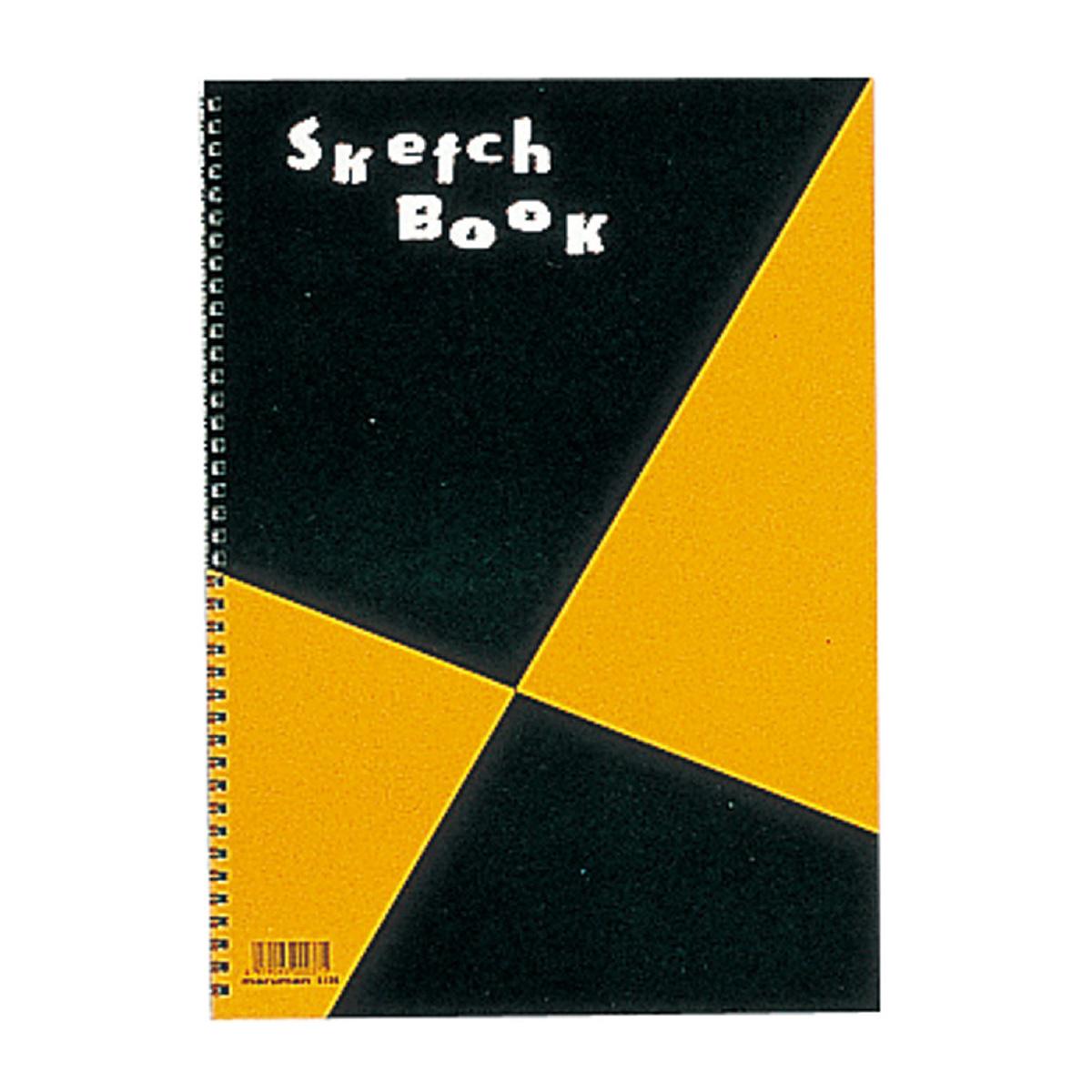 M 図案 スケッチブック B4 S120 b4 画用紙 画材 美術 図工 こども 絵 スケッチ クリスマスプレゼント