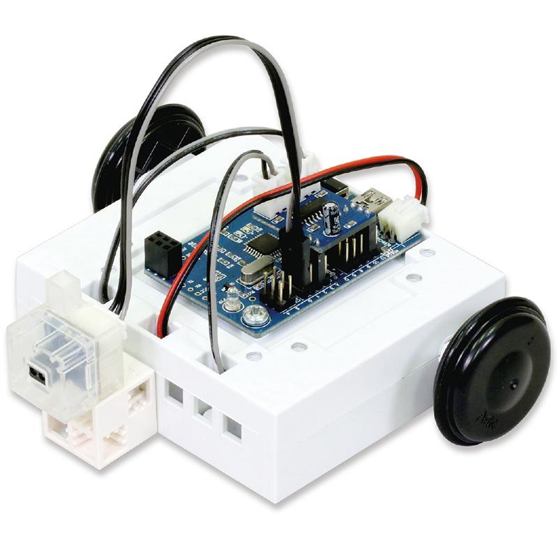 プログラムロボットカー台座セット 工作キット 技術 自由研究 中学生 スタディーノミニ