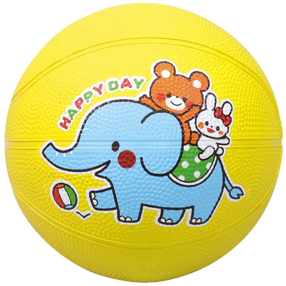 なかよし ドッチボール 小さめ 約φ15cm 外遊び 子供 おもちゃ 知育玩具 遊具 キッズ 幼児 小学生 幼稚園 保育園 ぞう くま うさぎ キャラクター クリスマスプレゼント
