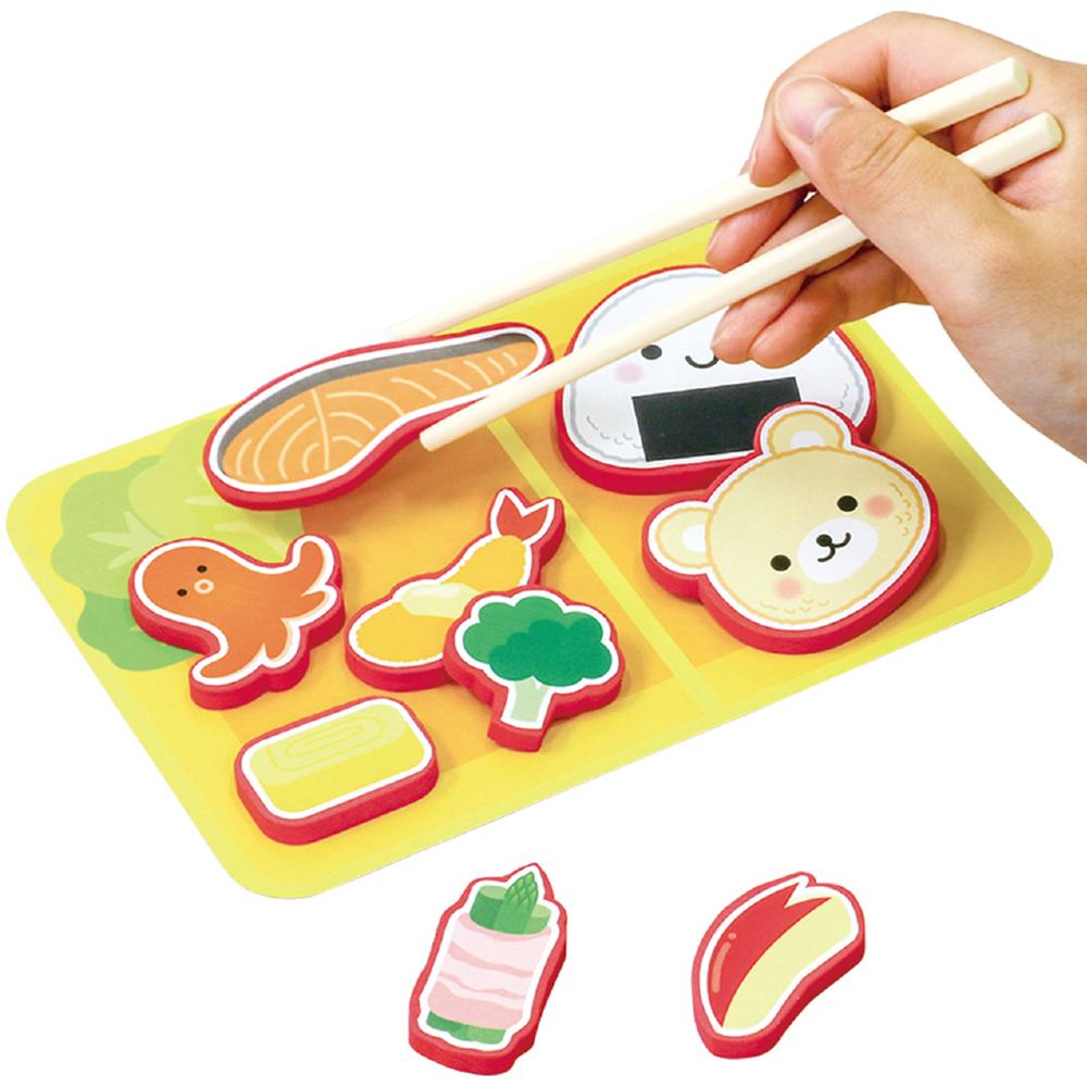 わくわくお弁当づくり 知育玩具 3歳 4歳 パズル ゲーム 子供 キッズ 幼児 幼稚園 保育園 お箸 練習