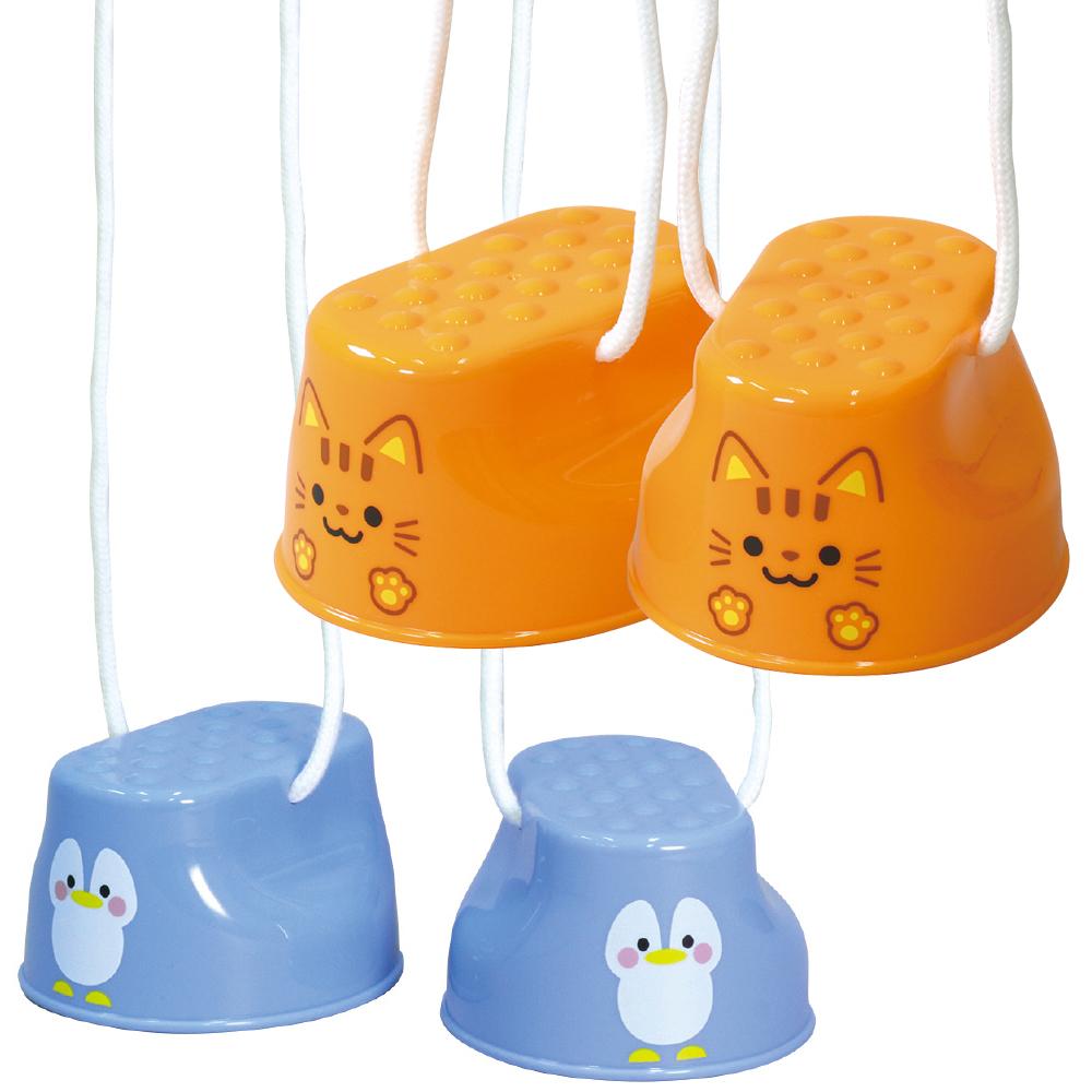 パカポコ ペンギン ぽっくり おもちゃ 竹馬 知育玩具 3歳 4歳 幼稚園 保育園 子供 外遊び キッズ 外遊び おもちゃ