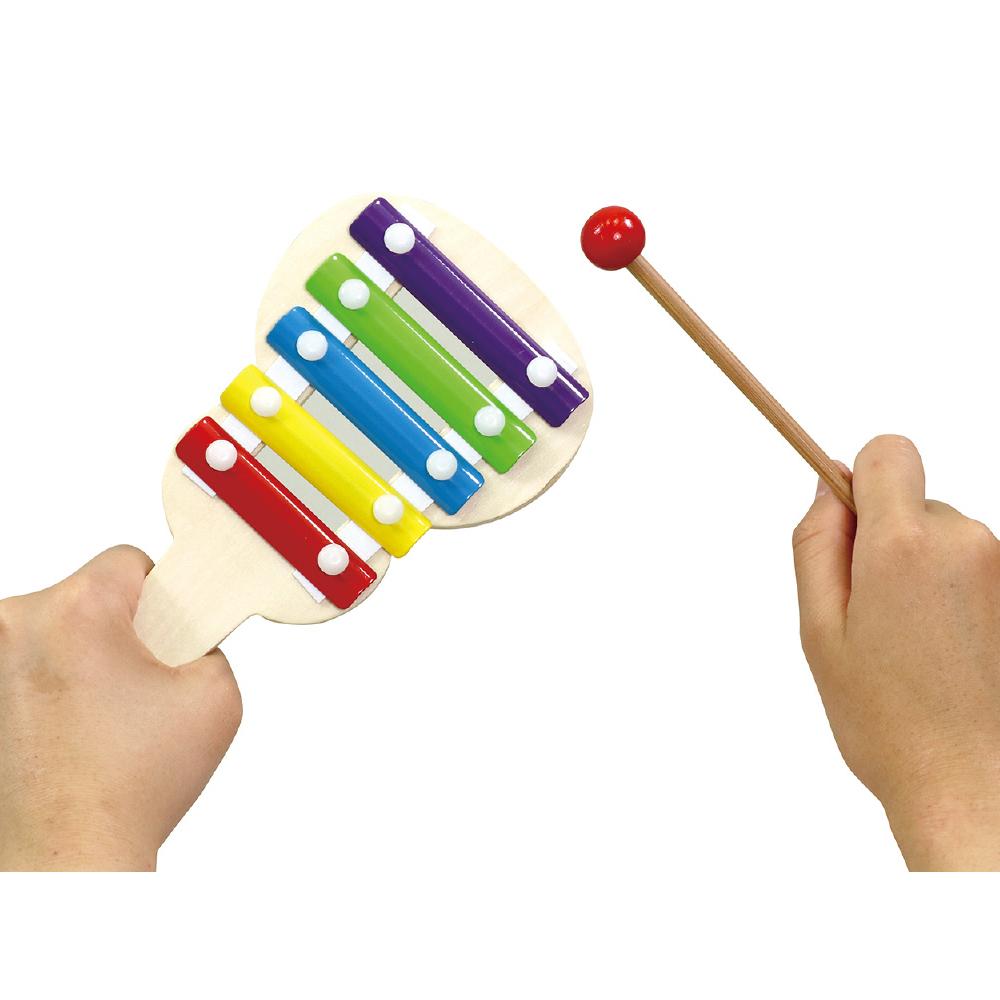 ハンディ てっきん おもちゃ 楽器 鳴り物 知育玩具 3歳 4歳 子供 幼児 キッズ 幼稚園 保育園 クリスマス クリスマスプレゼント