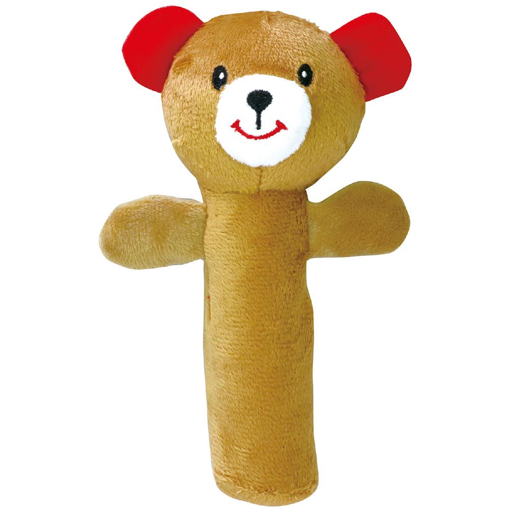 にぎにぎ人形(くま) ガラガラ 赤ちゃん おもちゃ 新生児 知育玩具 0歳 1歳 かわいい クリスマスプレゼント