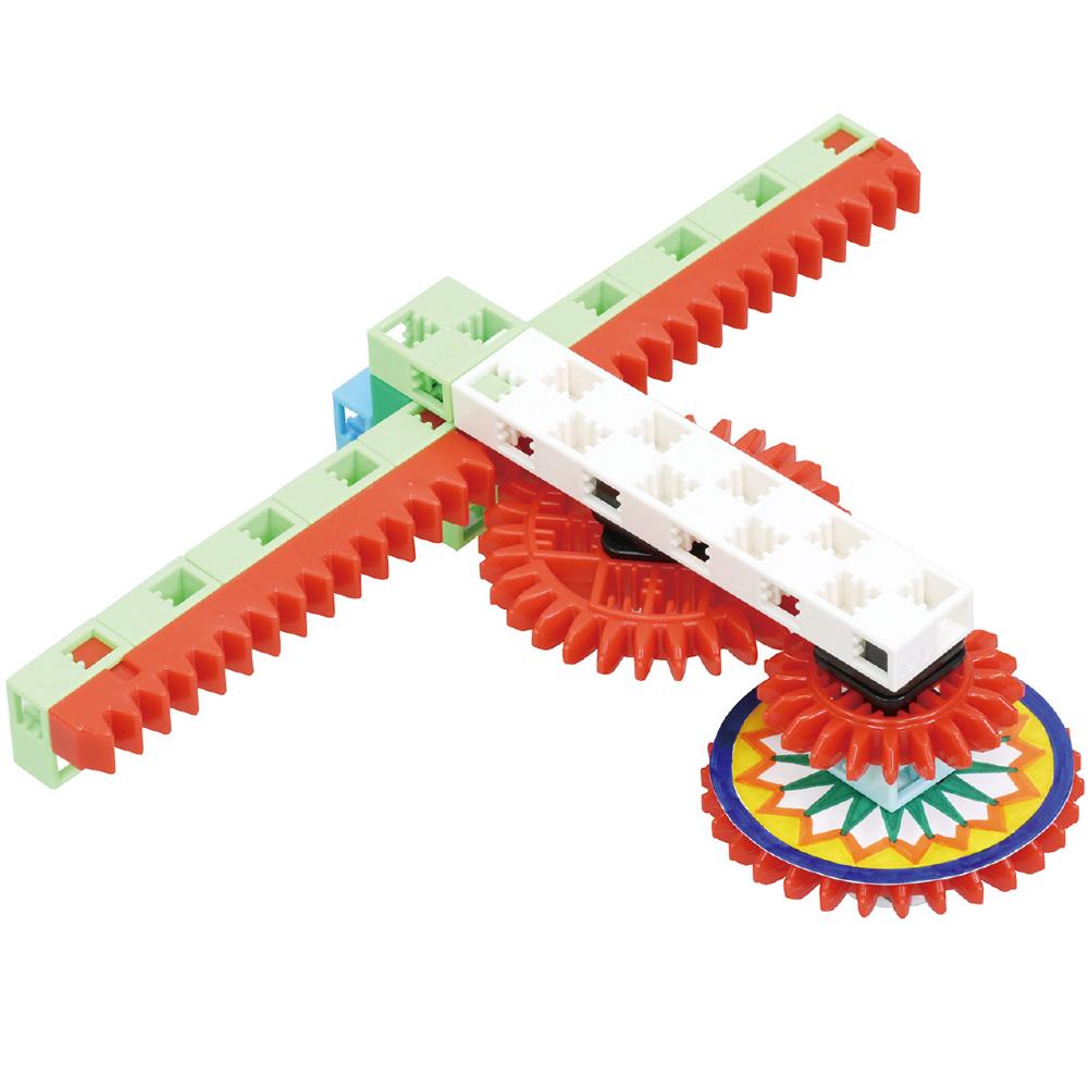 ギヤスピナー ブロック コマ おもちゃ 子供 知育玩具 工作 クリスマスプレゼント