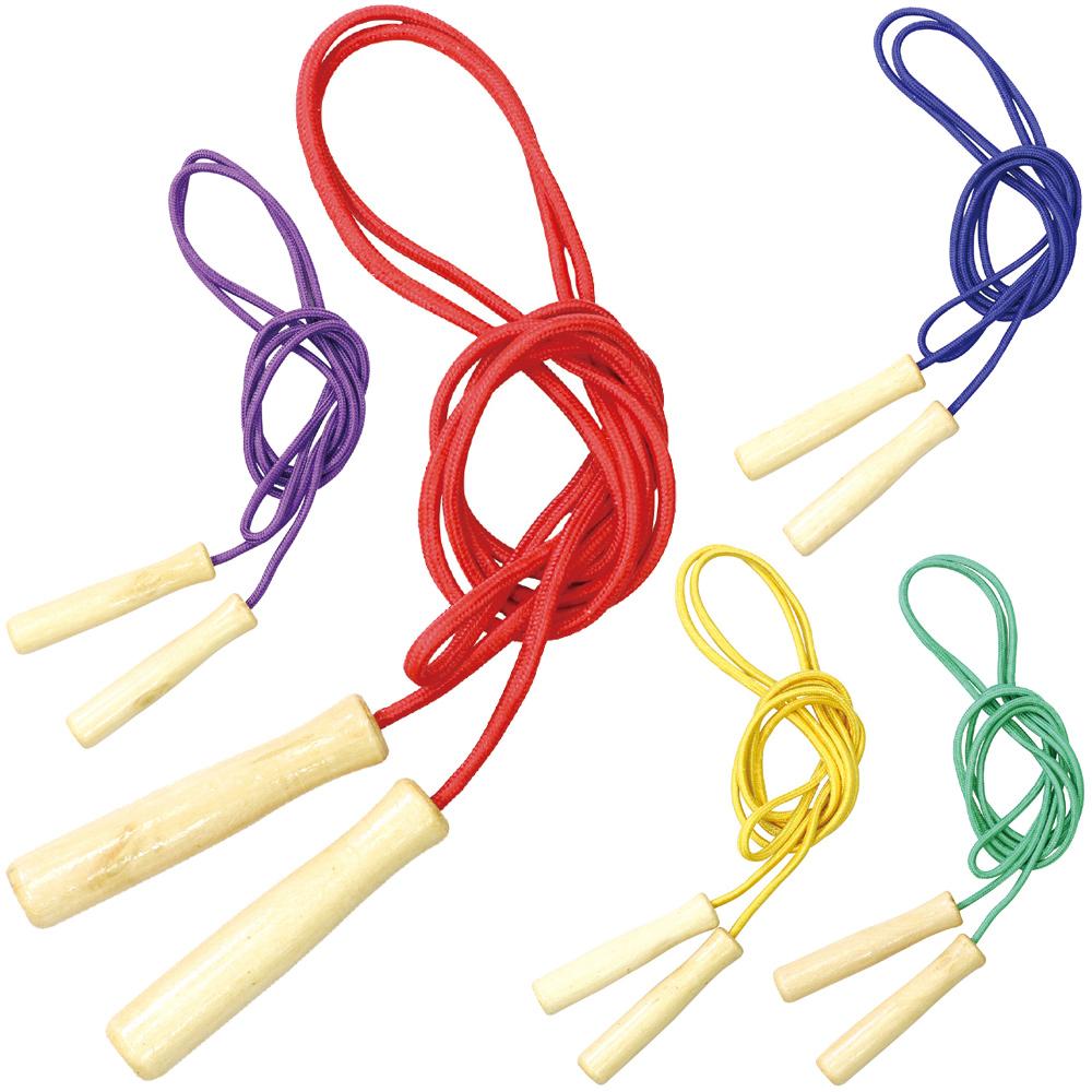 縄跳び 子供用 ロープ 彩り木柄 なわとび 縄飛び 知育玩具 3歳 5歳 小学生 おもちゃ 女の子 男の子 子供