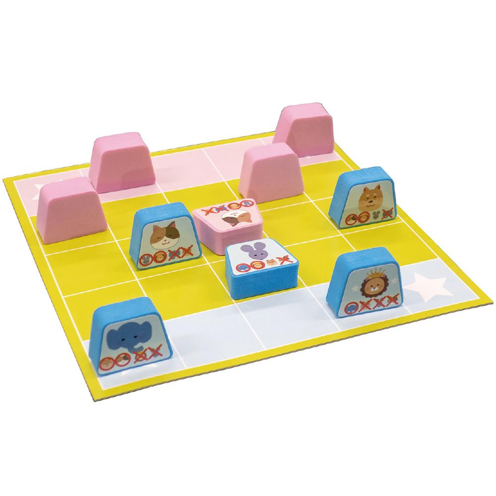 かくれんぼアニマル しょうぎ 将棋 動物 知育玩具 3歳 2歳 5歳 おもちゃ 女の子 男の子 子供 室内 遊び ゲーム