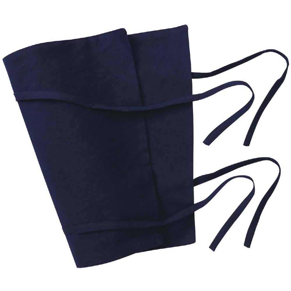 脚絆[2個組] 黒 きゃはん ゲートル 衣装 忍者 仮装 コスプレハロウィン お祭り