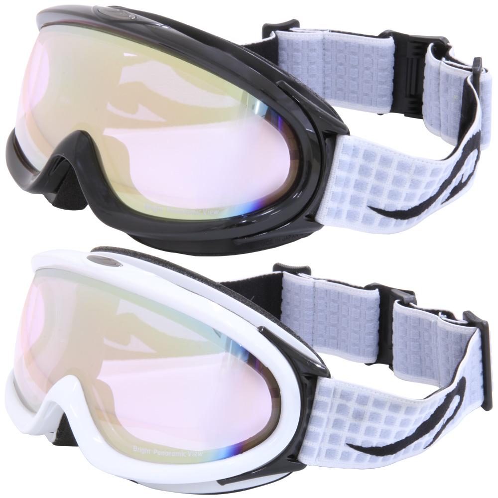 ゴーグル AXE [アックス] スキー [スノーボード] ゴーグル AX888-WCM スノーゴーグル ダブルレンズ ダブルレンズ メンズスノーゴーグル 曇り止め機能付き 大型メガネ対応