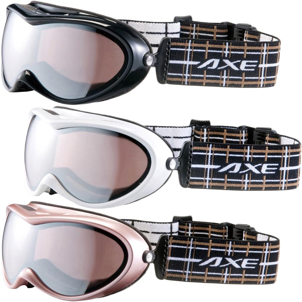 ゴーグル AXE [アックス] スキー [スノーボード] ゴーグル OMW-685 スノーゴーグル ダブルレンズ レディース 女性用