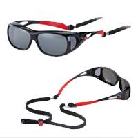 オーバーサングラス スポーツ UVカット AXE アックス 紫外線対策 グッズ スポーツ ゴルフ 紫外線カット99.9%