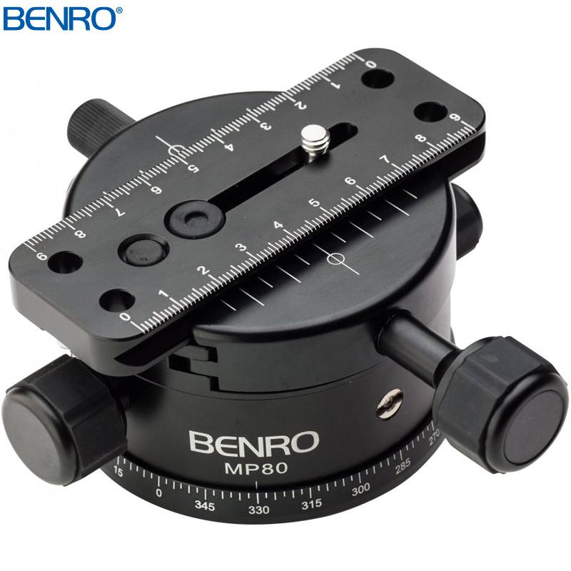 MP80 ギヤ付雲台ベース パノラマ専用雲台MPシリーズ BENRO[ベンロ]