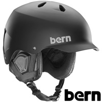 ヘルメット WATTS [ワッツ] HARD HAT MATTE BLACK [BLACK PREMIUM LINER] [2017-18モデル] SM25BMBLK 【ジャパンフィット】 BERN 国内正規販売店 スキー スノーボード スノボ ウィンタースポーツ BMX 自転車 バイク おしゃれ かっこいい