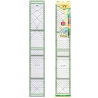 ストリップ定規[カラーライン50cm] 57929 クロバー 手芸用品 裁縫 パッチワーク 定規 さし カット 製図 型紙作り しるし付け クローバー 趣味 ホビー 手作り