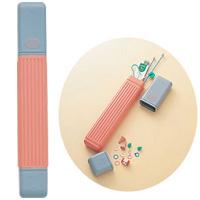 あみ針ケース 「ルーミー」 55905 クロバー 編み物 毛糸 手芸 裁縫 ソーイング用品 洋裁 ハンドクラフト かぎ編み