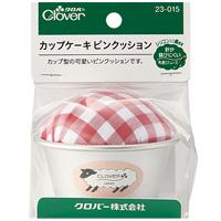 カップケーキピンクッション1個 23015 クロバー Clover 手芸 裁縫 クロバー