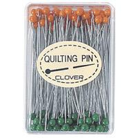 キルティング待針 57326 クロバー まち針 手芸 裁縫 ソーイング用品 洋裁 ハンドクラフト