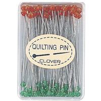 キルティング待針[細] 57327 クロバー まち針 手芸 裁縫 ソーイング用品 洋裁 ハンドクラフト