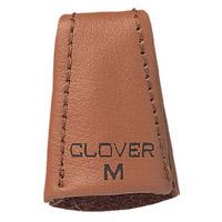 皮シンブル[ソフト]M 57340 クロバー 指ぬき 手芸 裁縫 ソーイング用品 洋裁 ハンドクラフト