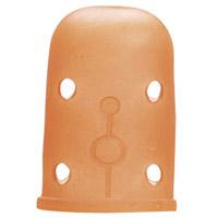 カラフルラバーシンブル[小・14mm] 57391 クロバー 指ぬき 手芸 裁縫 ソーイング用品 洋裁 ハンドクラフト