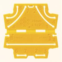 つまみ細工プレート[丸つまみSS] 57457 クロバー 手芸 裁縫 ソーイング用品 洋裁 ハンドクラフト