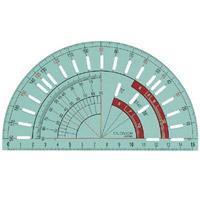 パッチワーク分度器 57563 クロバー 手芸 裁縫 ソーイング用品 洋裁 ハンドクラフト