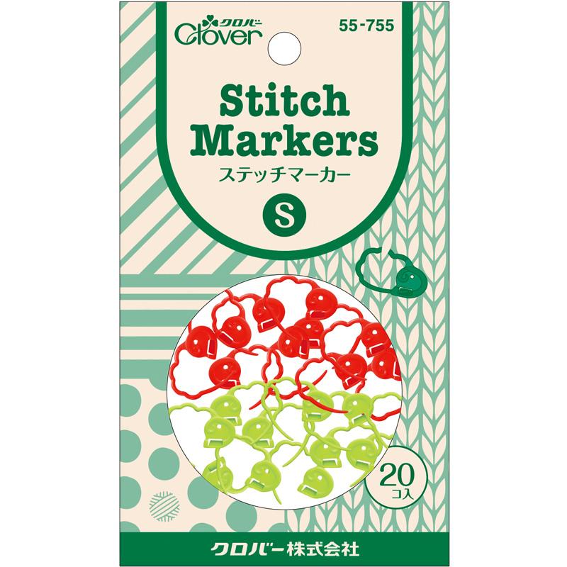 ステッチマーカーS 55755 Clover 手芸用品 編み物 刺しゅう クローバー 裁縫 趣味 ホビー 手作り