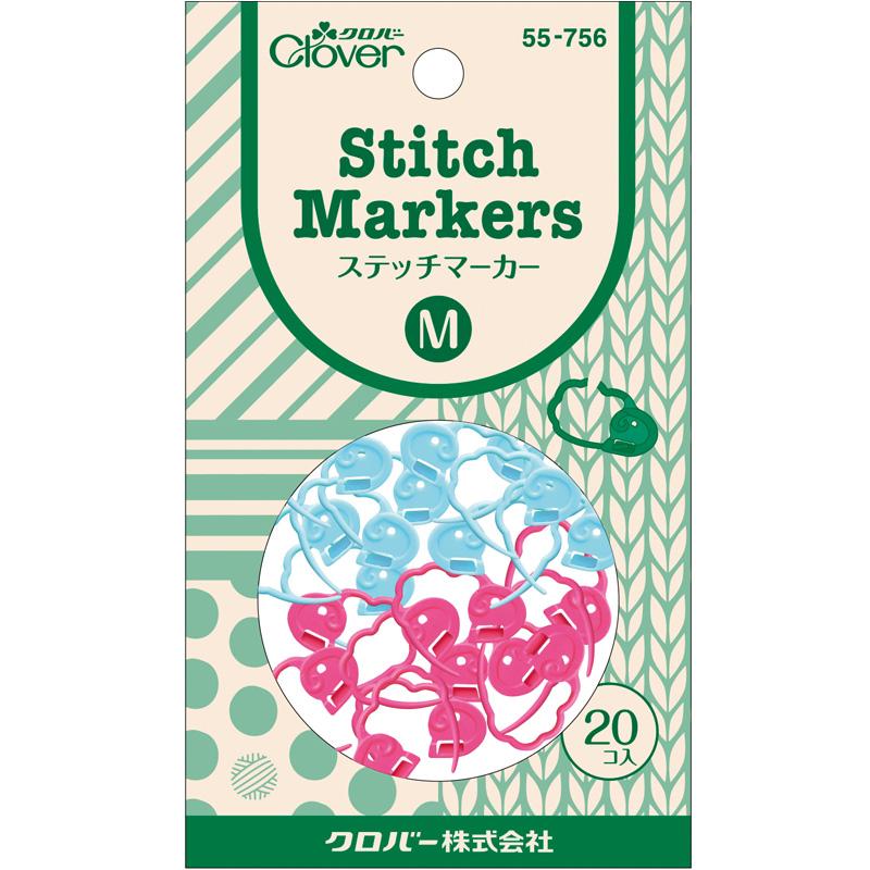ステッチマーカーM 55756 Clover 手芸用品 編み物 刺しゅう クローバー 裁縫 趣味 ホビー 手作り