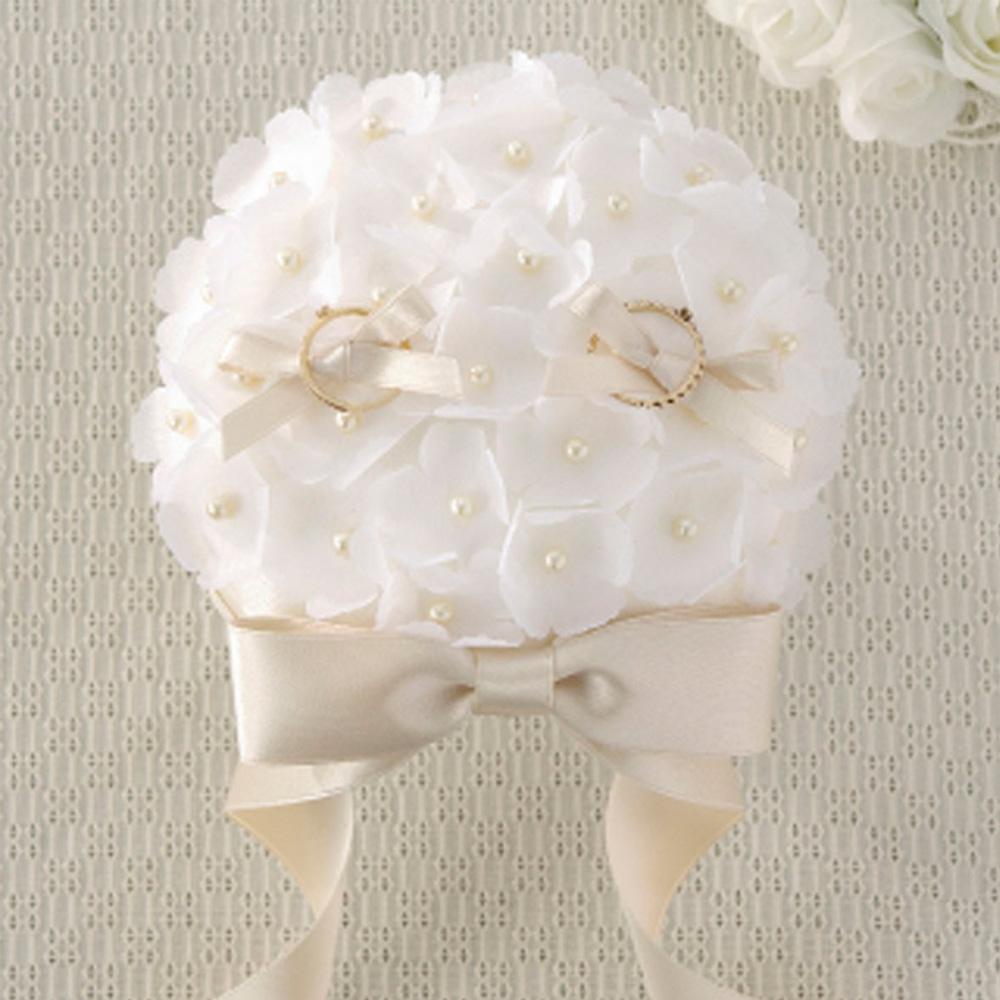 リングピロー ブーケ 68714 クロバー 結婚 記念 手作り 結婚式 ウェディング ウェディングキット 裁縫 ホビー プレゼント